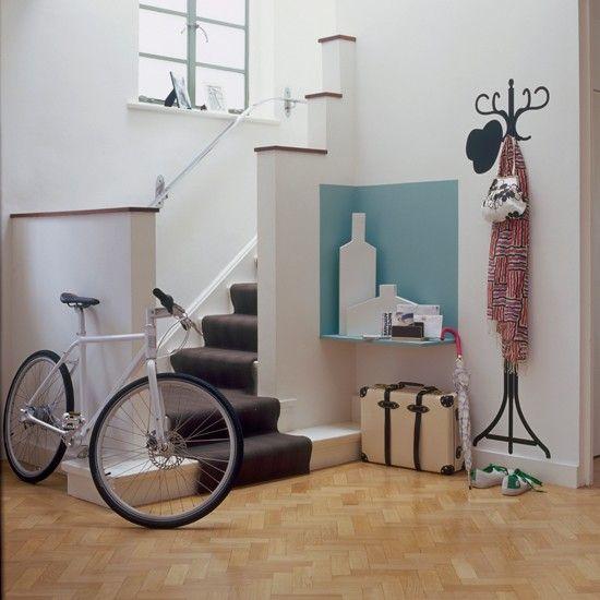 Pale parquet flooring | Flooring ideas for hallways - 10 of the best | housetohome.co.uk