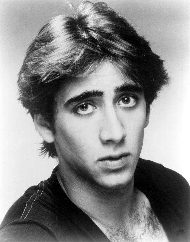 Young Nicolas Cage Child