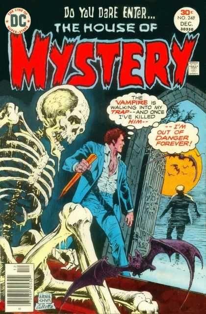 Skeleton - Vampire - Dare - Enter - Danger - Ernie Chan