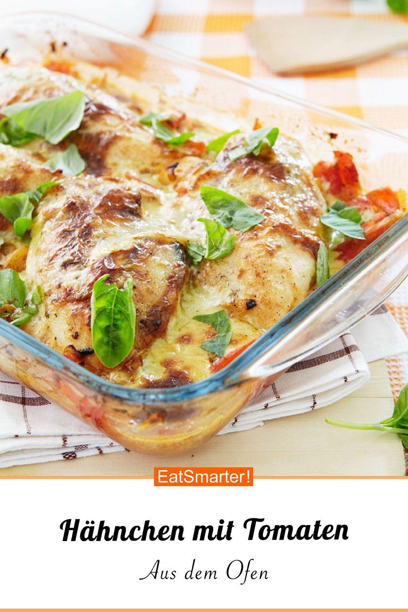 Photo of Low carb: Hähnchen mit Tomaten aus dem Ofen