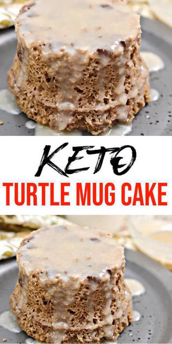 BEST Keto Mug Cakes! Low Carb Microwave Chocolate Caramel ...