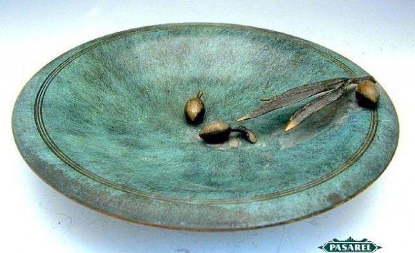 Pasarel - Pal-bell Brass Decorative Plate, Israel, 1950's $225.00