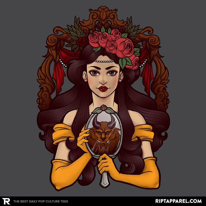 ''La Bête'' by ursulalopez available today only, 12/11/16, at RIPT Apparel