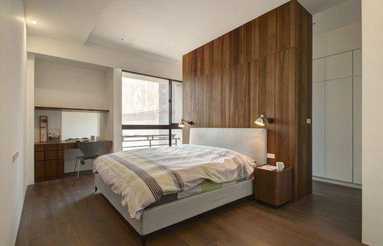 Interiores minimalistas 100 ideas para el dormitorio | Pared de ...