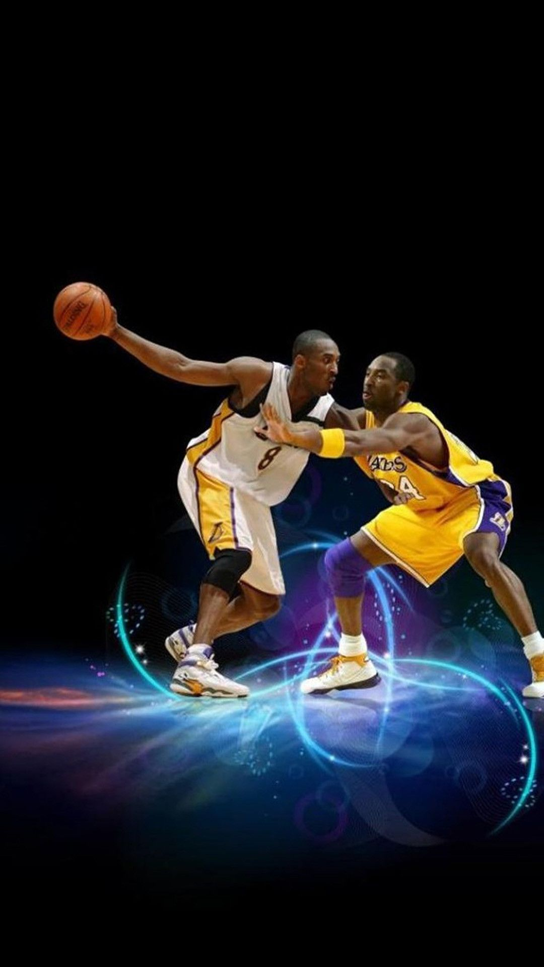 Cool Basketball Android Background in 2020 Kobe bryant