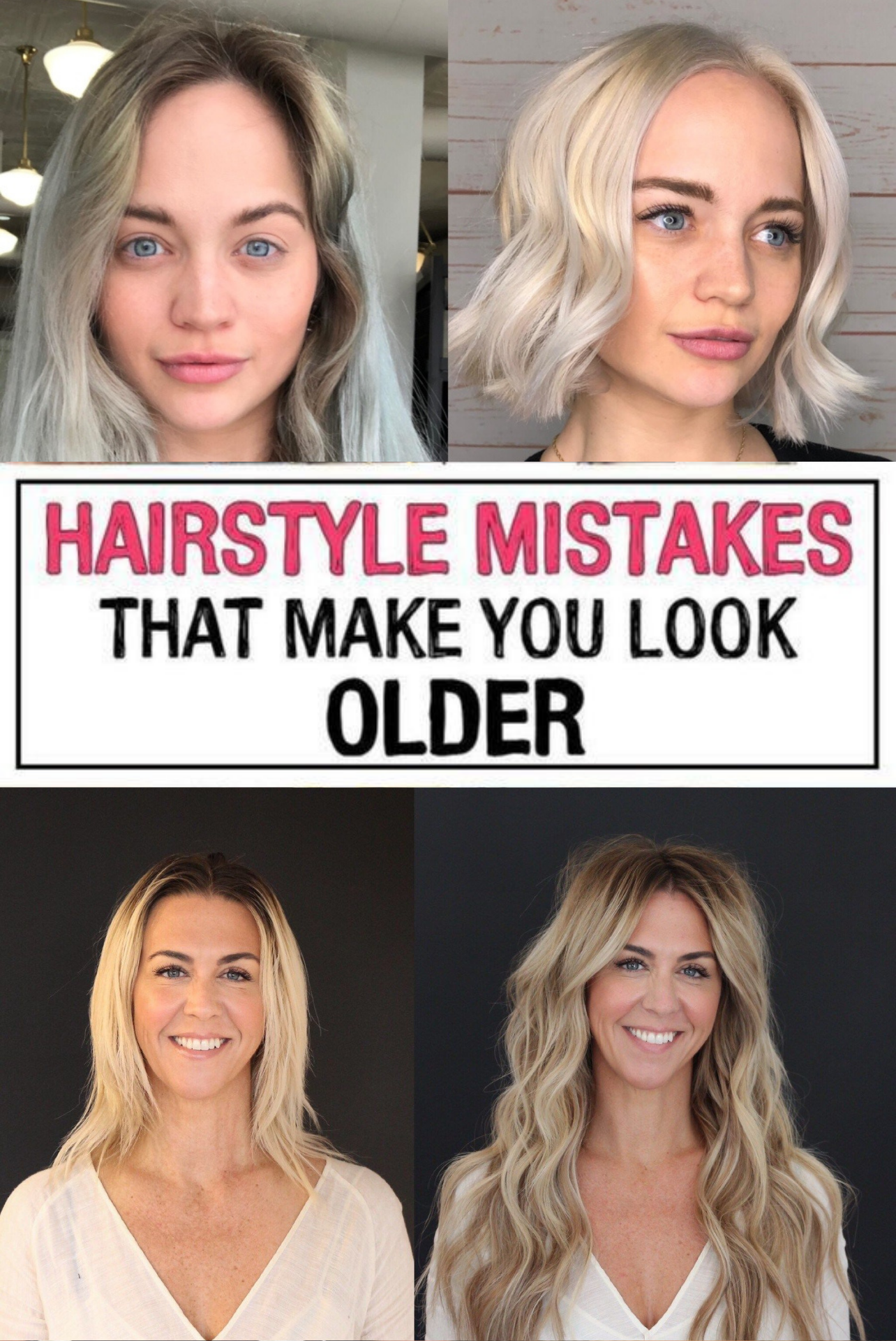 37 Hairstyle Mistakes That Are Aging You In 2020 Mom Hairstyles Hairstyle Hair Mistakes