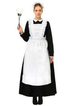 8d80f1aa2c2 Womens Traditional Maid Costume | Costumes | French maid costume ...
