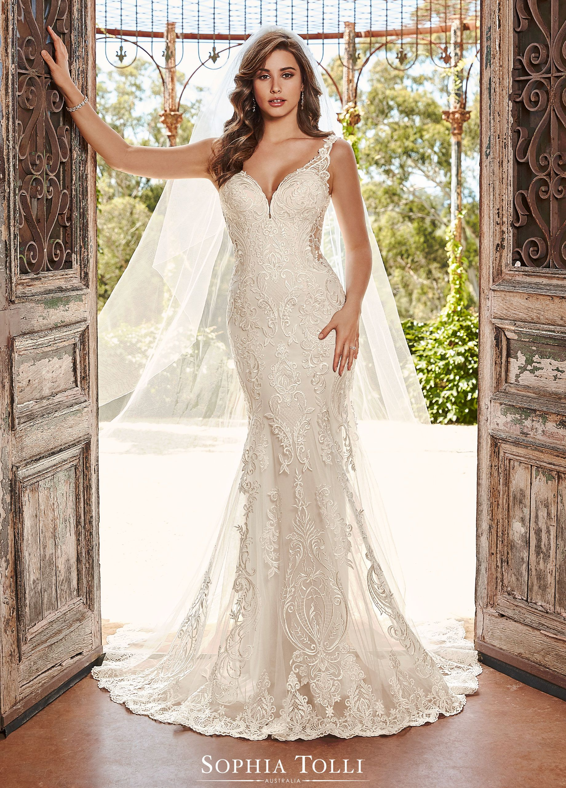 Sophia Tolli Wedding Gowns Y21988 Tara In 2020 Wedding Dresses