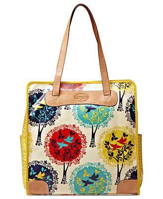 Fossil Handbag Key Per Tote Handbags Accessories Macy S