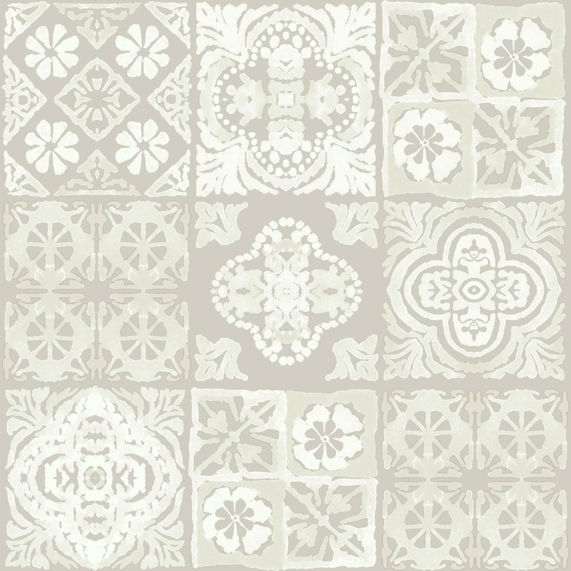 Tan Mosaic Tile Peel And Stick Wallpaper Marrakesh Tile Peel And Stick Wallpaper Wallpaper