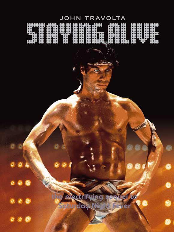 Staying Alive 1983 John Travolta Sequel To Saturday Night Fever Directed By Sylvester Stallone Par Filmes Filmes Antigos Os Embalos De Sabado A Noite