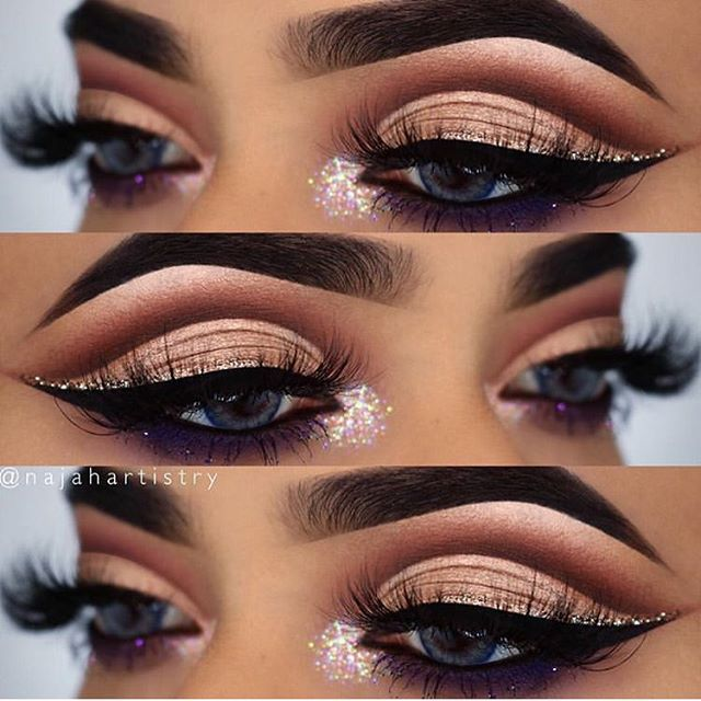 783042f2892 @najahartistry is slayin' with this look! She's wearing @lashylicious mink