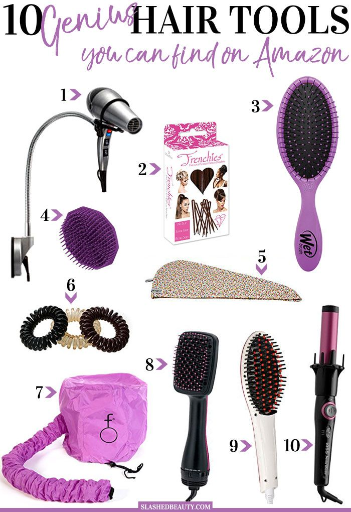 10 Genius Hair Tools To Buy On Amazon Slashed Beauty Hair Tools Amazon Hair Makeup Tools Products
