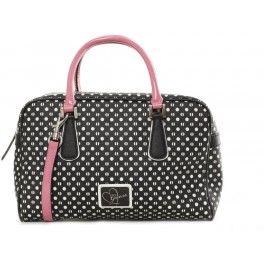WOMAN ACCESSORIES GUESS woman accessories borsa a mano guess donna nero -  bianco - rosa 100