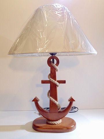 Grande lampe ancre | Nos produits de déco marine | Pinterest ...