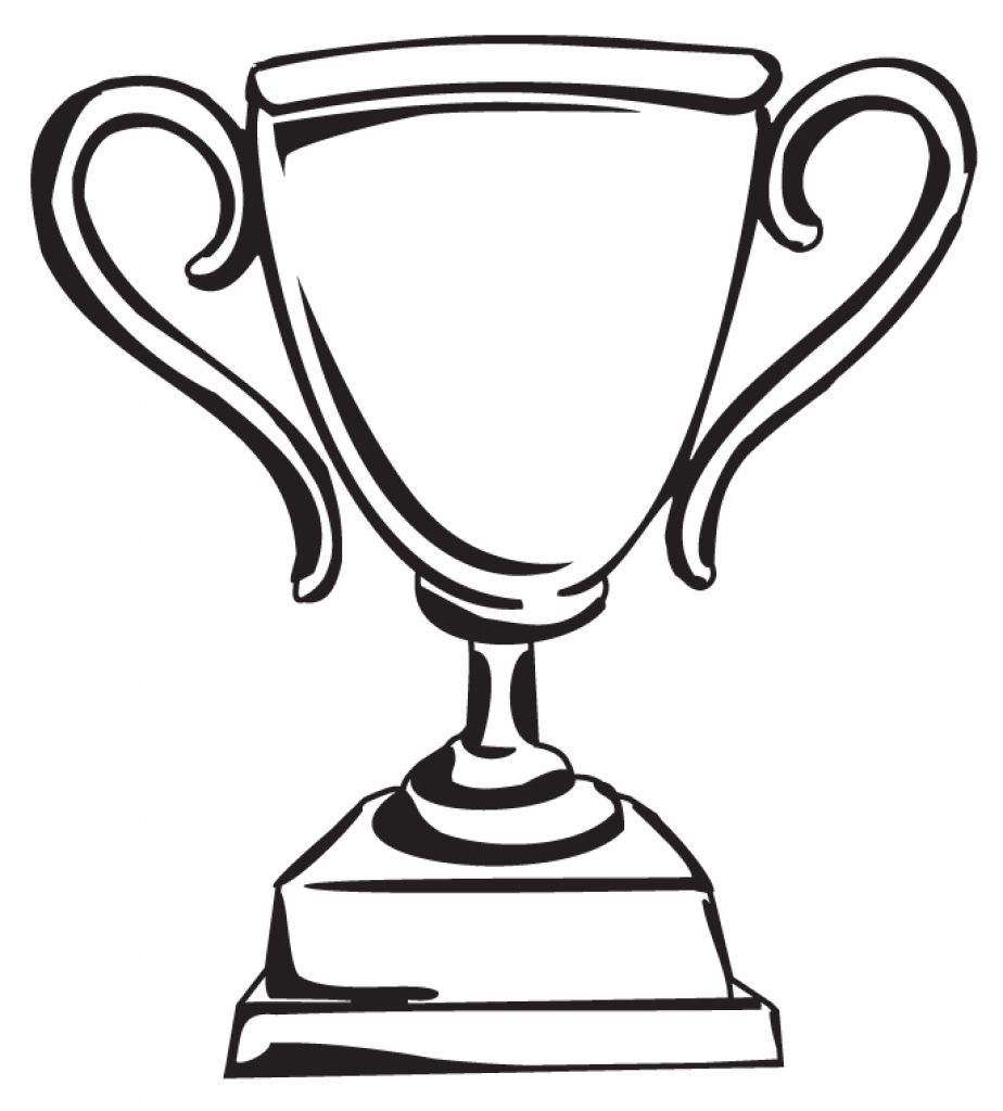 Trophy cup clipart clipground school houses trophy cup football