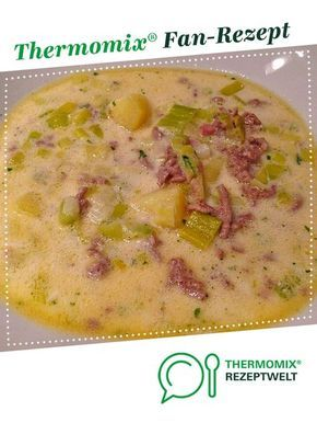 Photo of Potato leek minced meat soup
