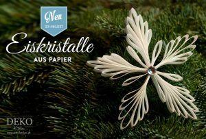 Diy Wunderschone Weihnachtsanhanger Christbaumschmuck Aus Papier