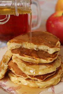 Recette de pancakes aux pommes rapées - Sophie's Store epicerie anglaise et americaine