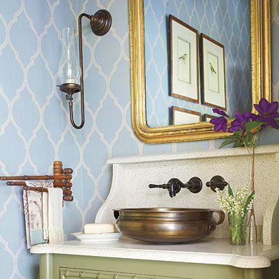 Beautiful Wallpaper Ideas Home Wallpaper Beautiful Bathrooms Decor Magazine