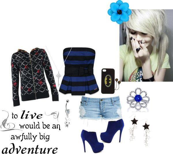"""Blue :)"" by candygurl2007 ❤ liked on Polyvore"
