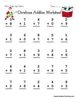math worksheet : 1000 images about christmas worksheets on pinterest  christmas  : Addition Math Facts Worksheets