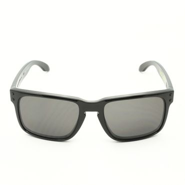 1cf190ebce Oakley OO9102 Valentino Rossi Signature Series Holbrook Sunglasses Col. 21  Polished Black with Warm Grey Lenses - Theaspecs.com