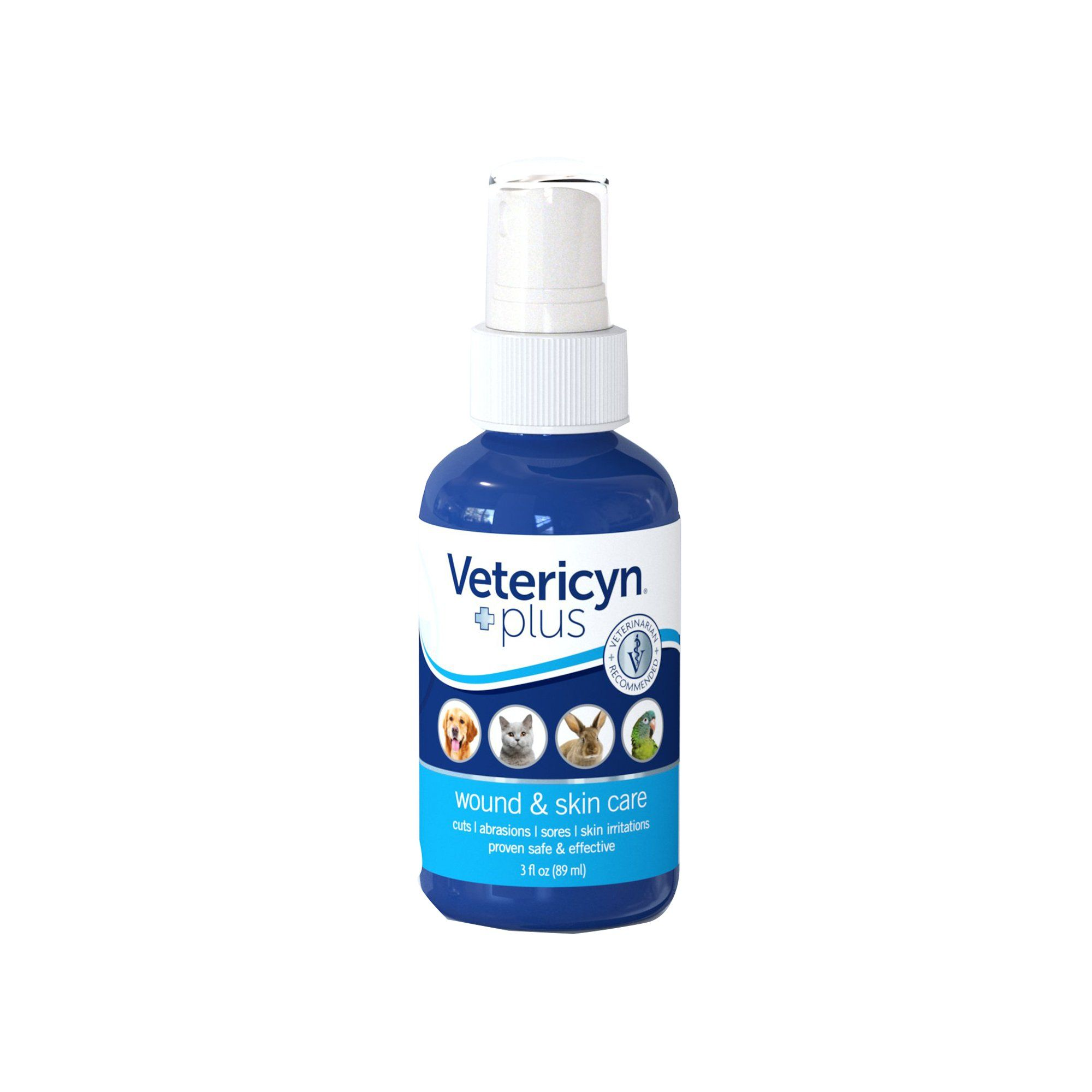 Vetericyn Plus Wound & Skin Care for Dogs, 3 fl. oz., 3 FZ