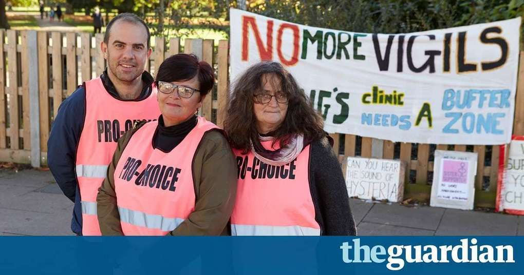 'This is groundbreaking': the activists ending harassment at abortion clinics