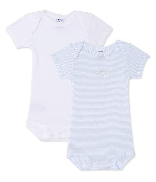 Petit Bateau T-Shirt Manches Longues B/éb/é gar/çon