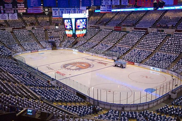 New York Islanders Nassau Coliseum New York Islanders City Postcard