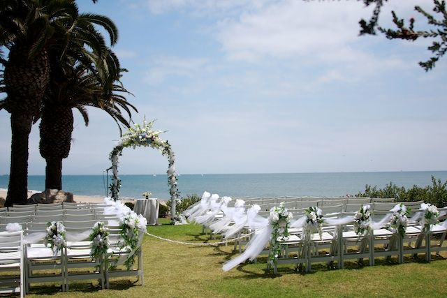 Leadbetter Beach Santa Barbara Weddings