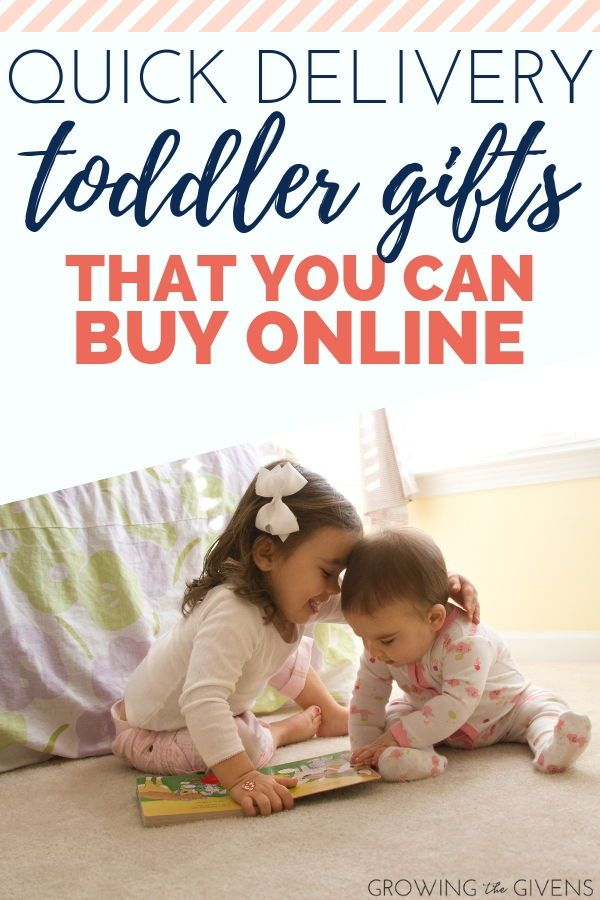 Quick Delivery Toddler Gifts That You Can Buy Online