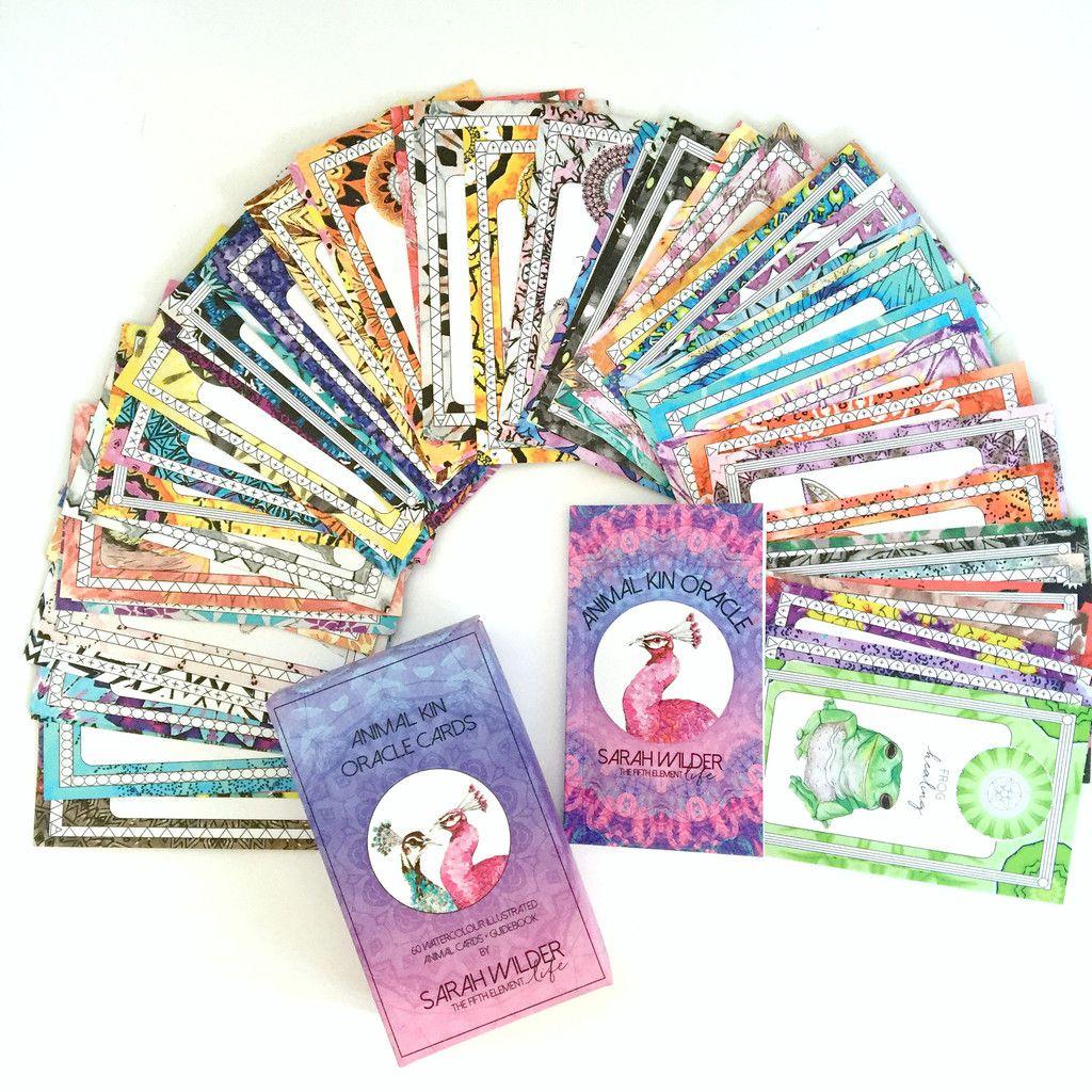Animal kin oracle cards by sarah wilder oracle cards