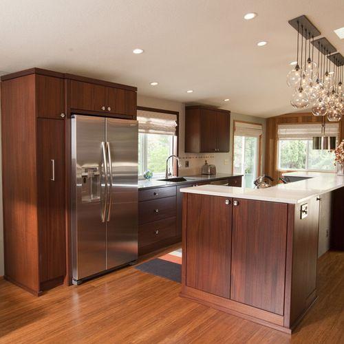 Mid Century Kitchen Cabinets: Mid-century Modern Kitchen Remodel In 2019