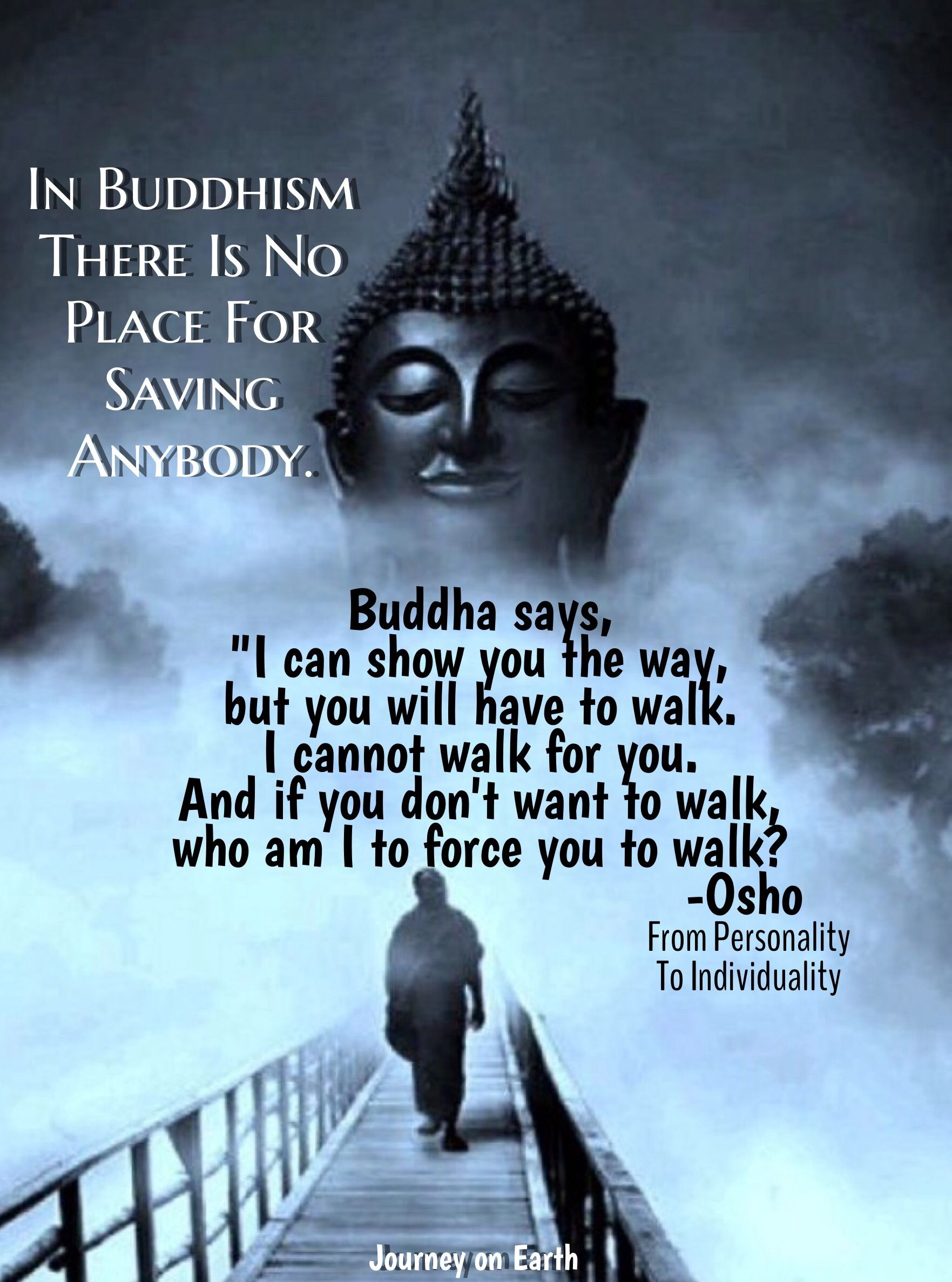 716 Best Buddhist Philosophy Inspirational Quotes Images: In Buddhism There Is No Place For Saving Anybody. Buddha