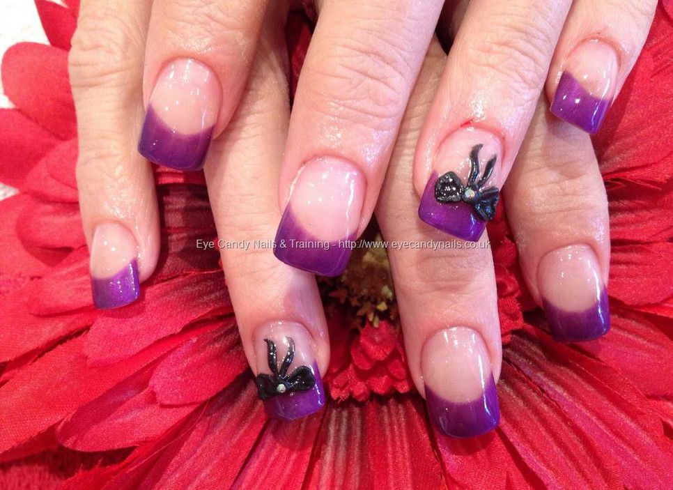 Nail Designs With 3d Bow | Best manicure | Pinterest