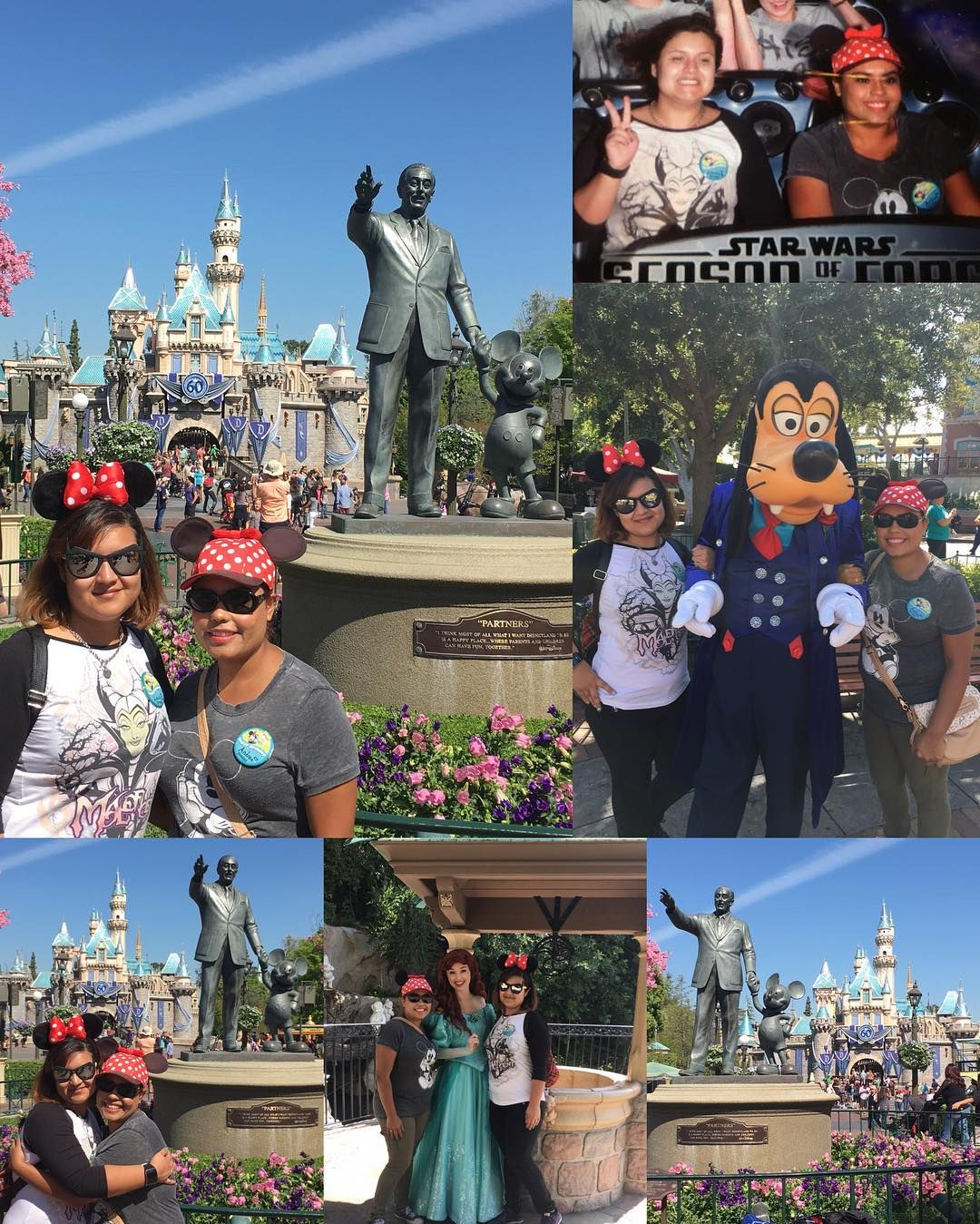 Today Was A Good Day To Be At Disneyland The Weather Was Nice Not