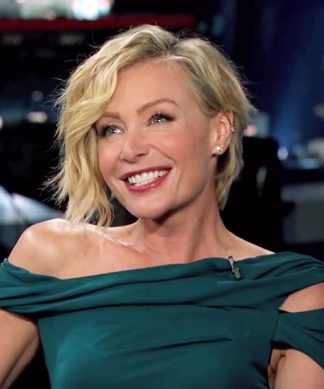 Portia De Rossi New Hair: Cheveux Courts, Cheveux