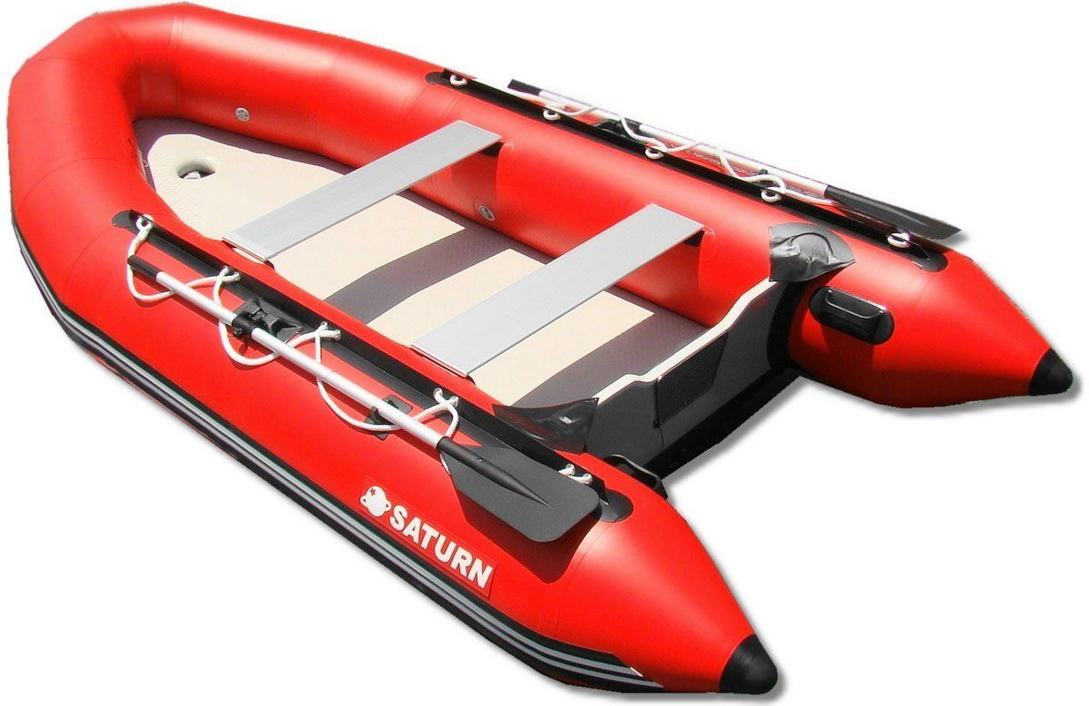 Amazon Com Saturn 12 Ft Red Inflatable Sport Motor Boat Dinghy