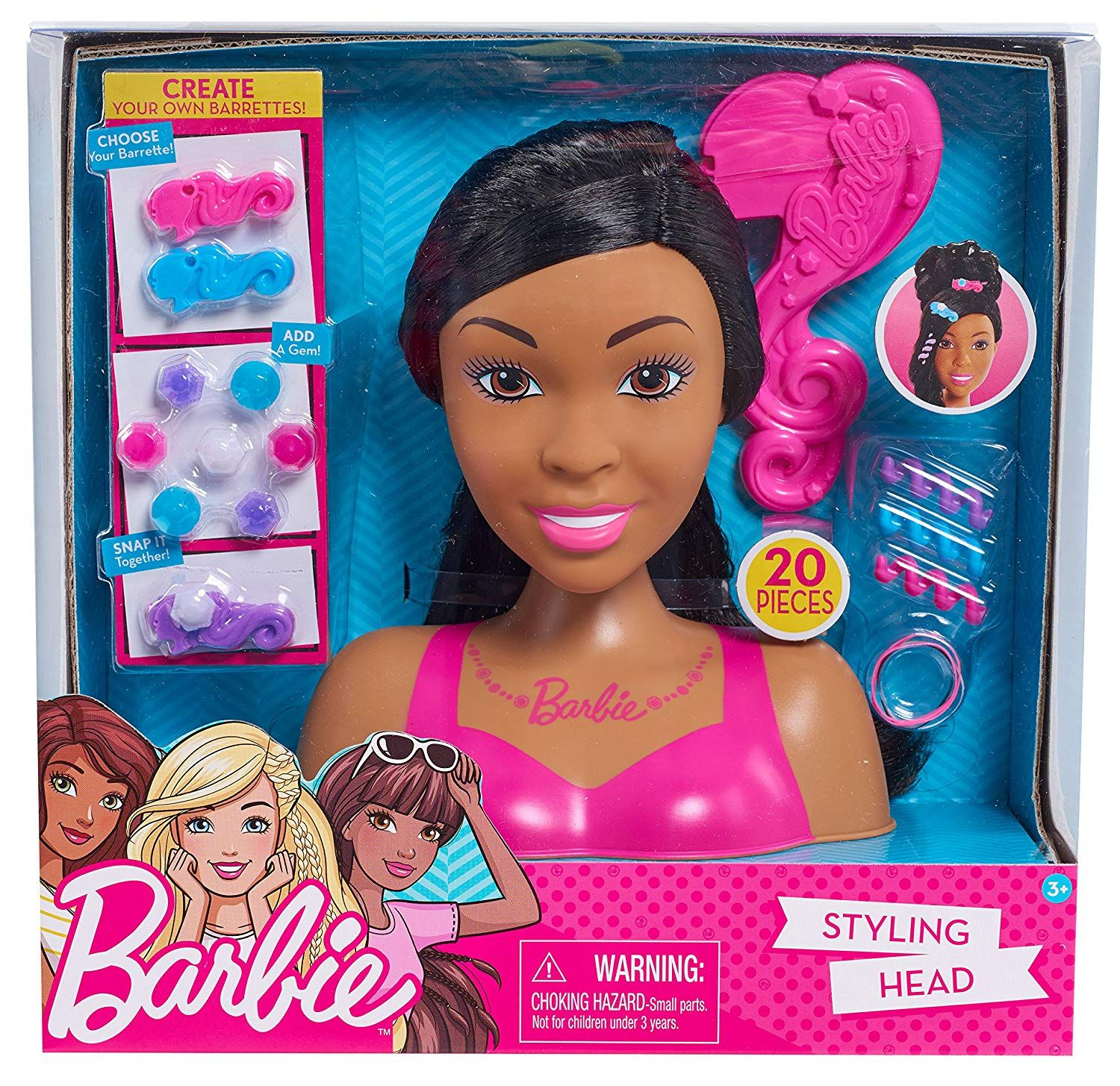 Barbie Styling Head Multicolor Barbie Styling Head Diy Barbie Clothes Barbie Gifts