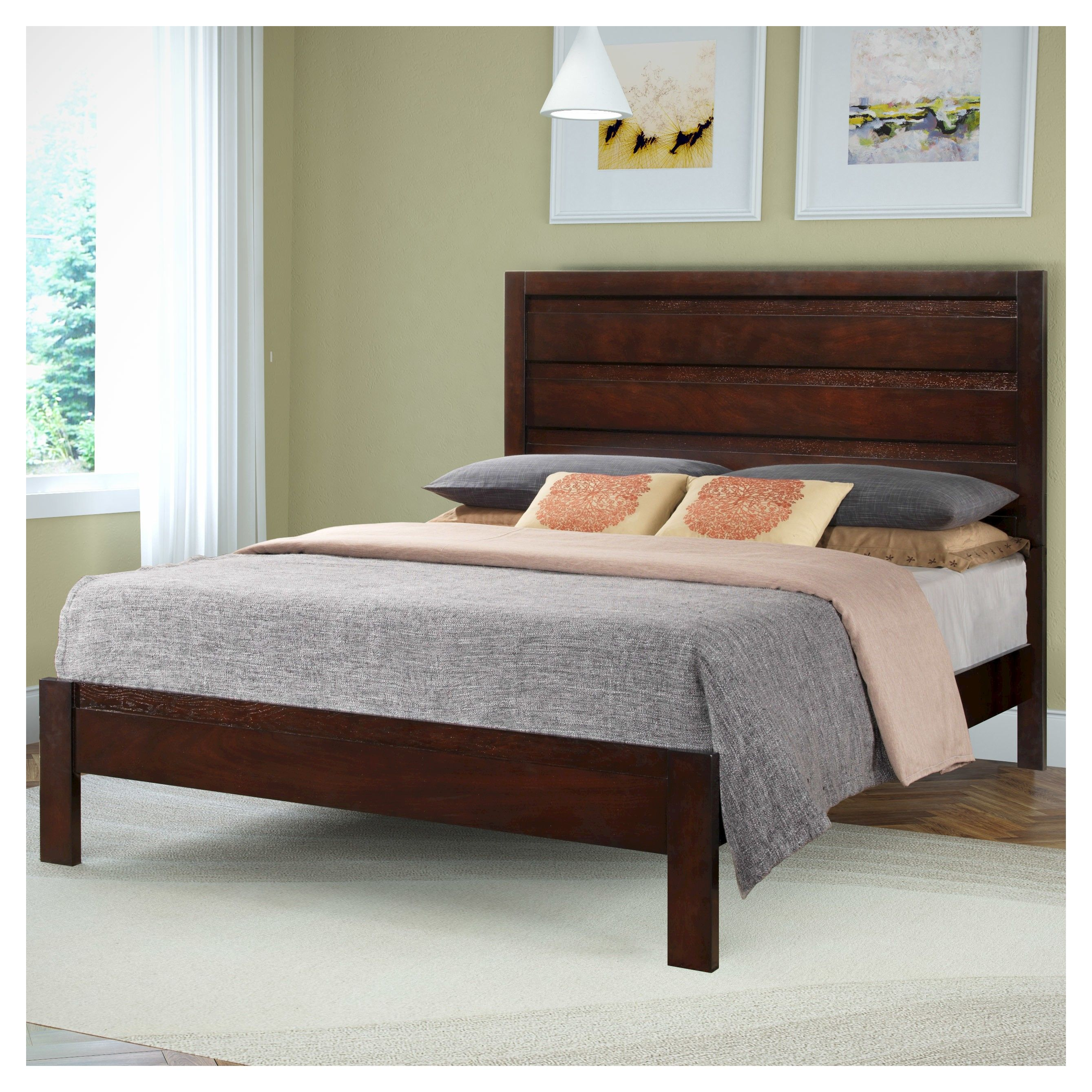 Add timeless style to your bedroom with the BLH-230-Q queen sized bed