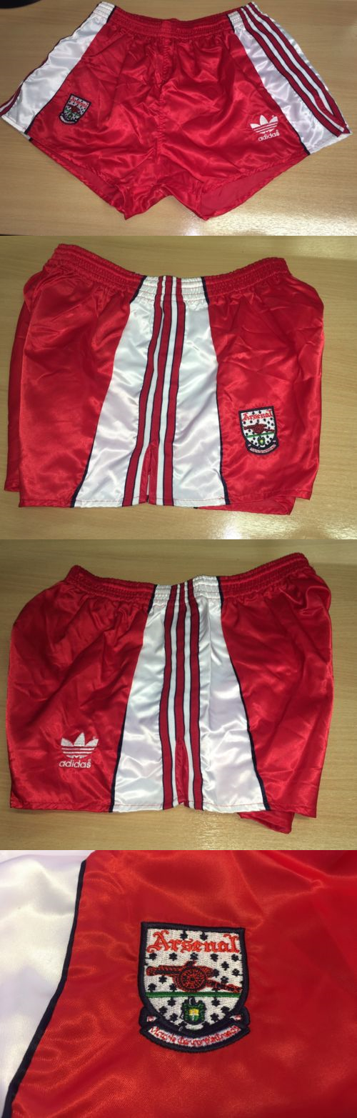 Arsenal Qbwcoerxed Adidas Shorts Football 175776new Vintage D8 Nylon NOX80wkPn