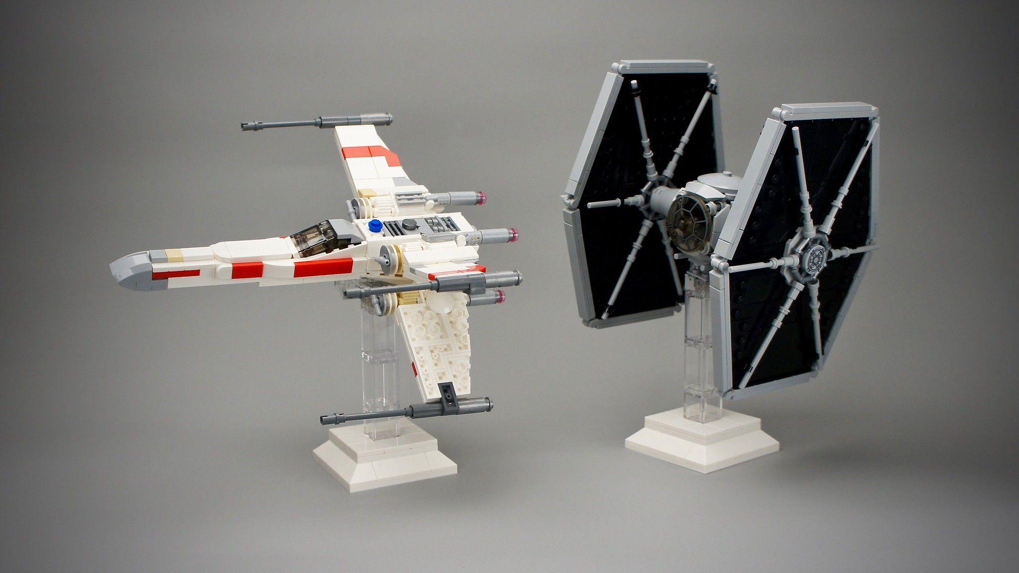 X Wing Tie Fighter Midi Scale Lego Army Lego Tie Fighter Lego Star Wars