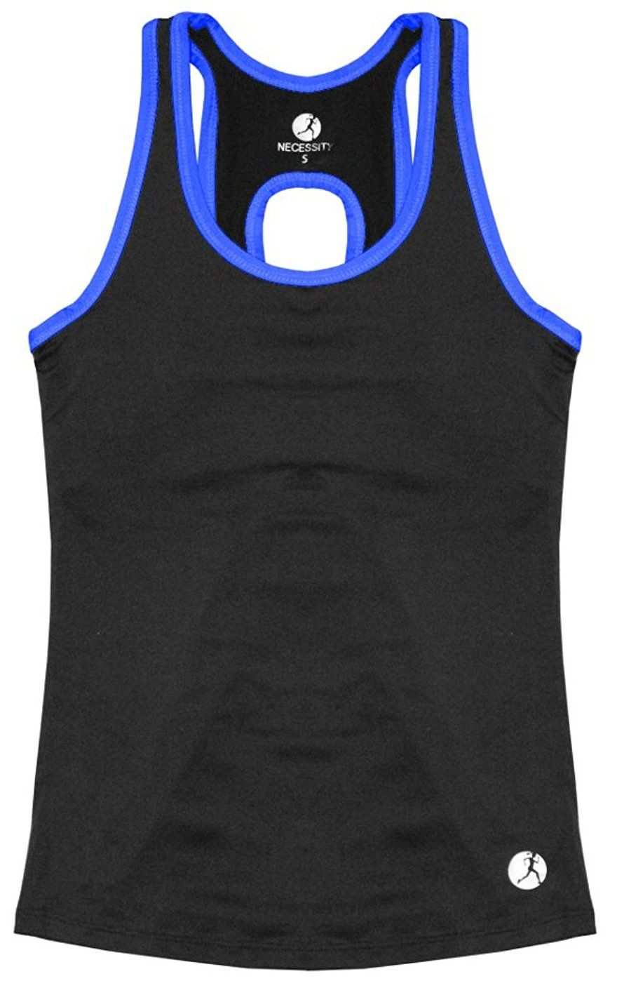 6637c08a566c9 Necessity Women s Athletic Performance Tank Top with Built in Sport Bra   Buy Now from Amazon