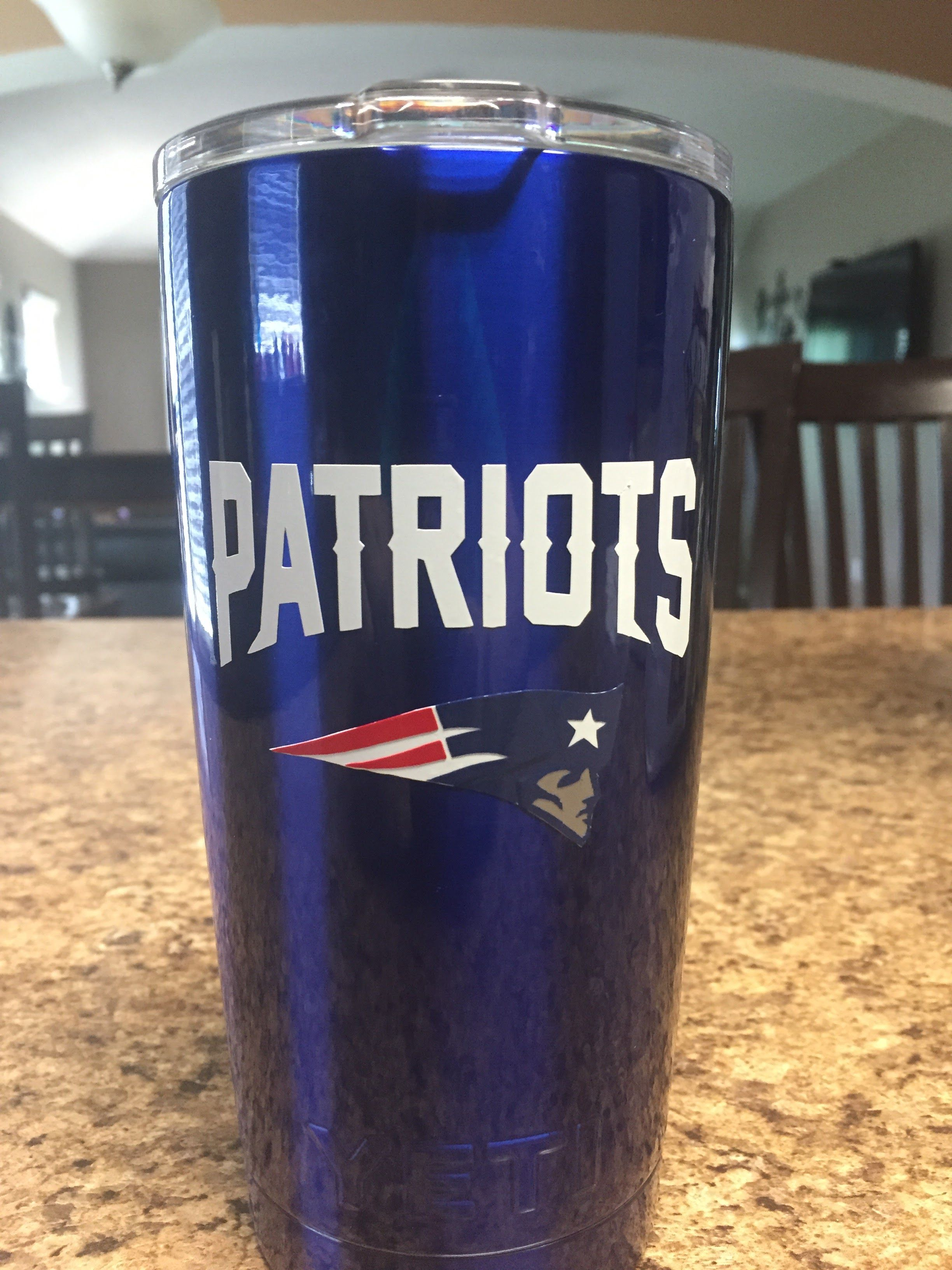 Patriots Custom Yeti Custom Yeti Powder Coated Tumblers Custom