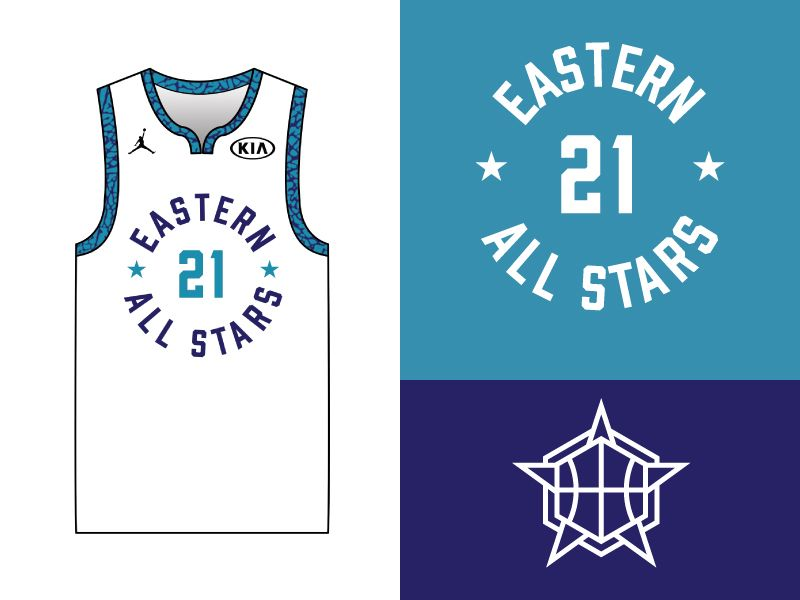 Nba All Star 2019 Uniform Concept By Jesse Makes Sports Uniform