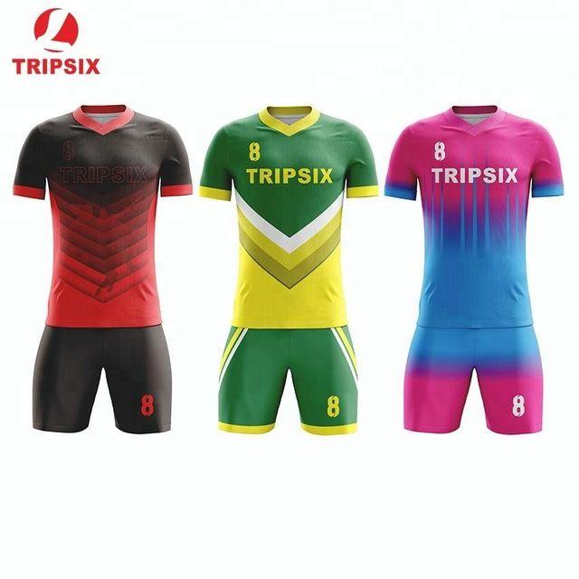 72d67e6e3 Source Wholesale Sublimation Printing Cheap Thai Quality Custom Soccer  Jersey on m.alibaba.com