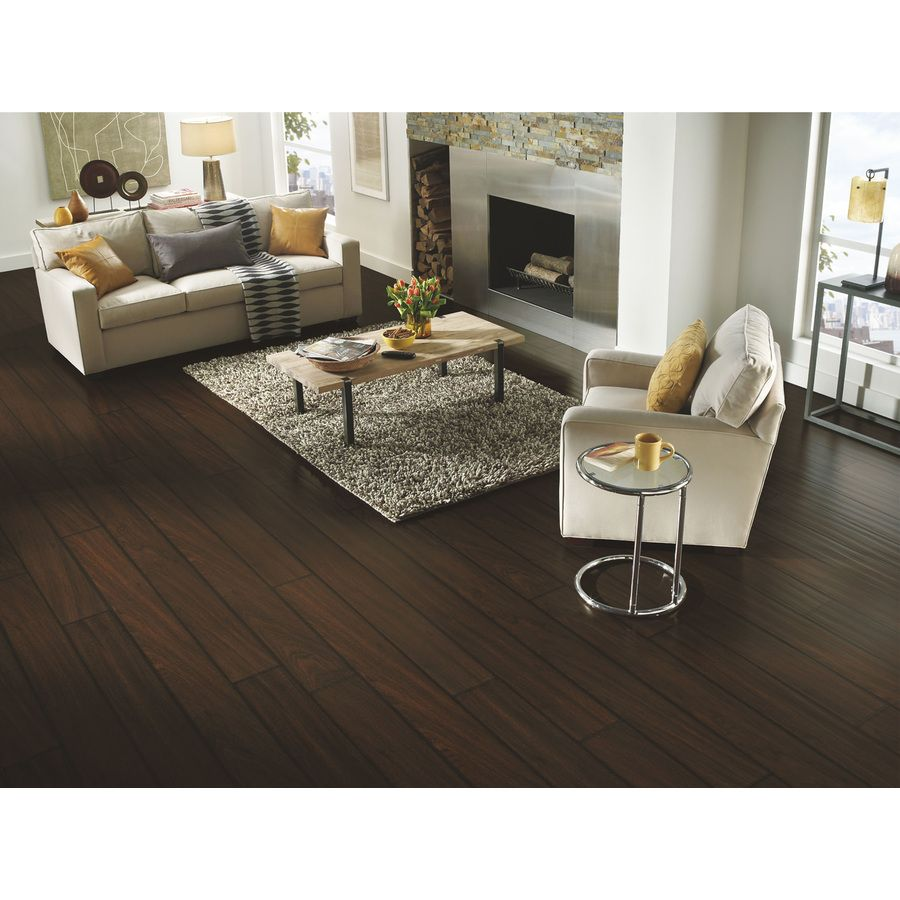 Shop Armstrong Long Plank 7 5 8 In W X 89 In L Brazilian Sapele Laminate Flooring At Lowes Com Luxury Vinyl Tile Luxury Area Rugs Wood Laminate