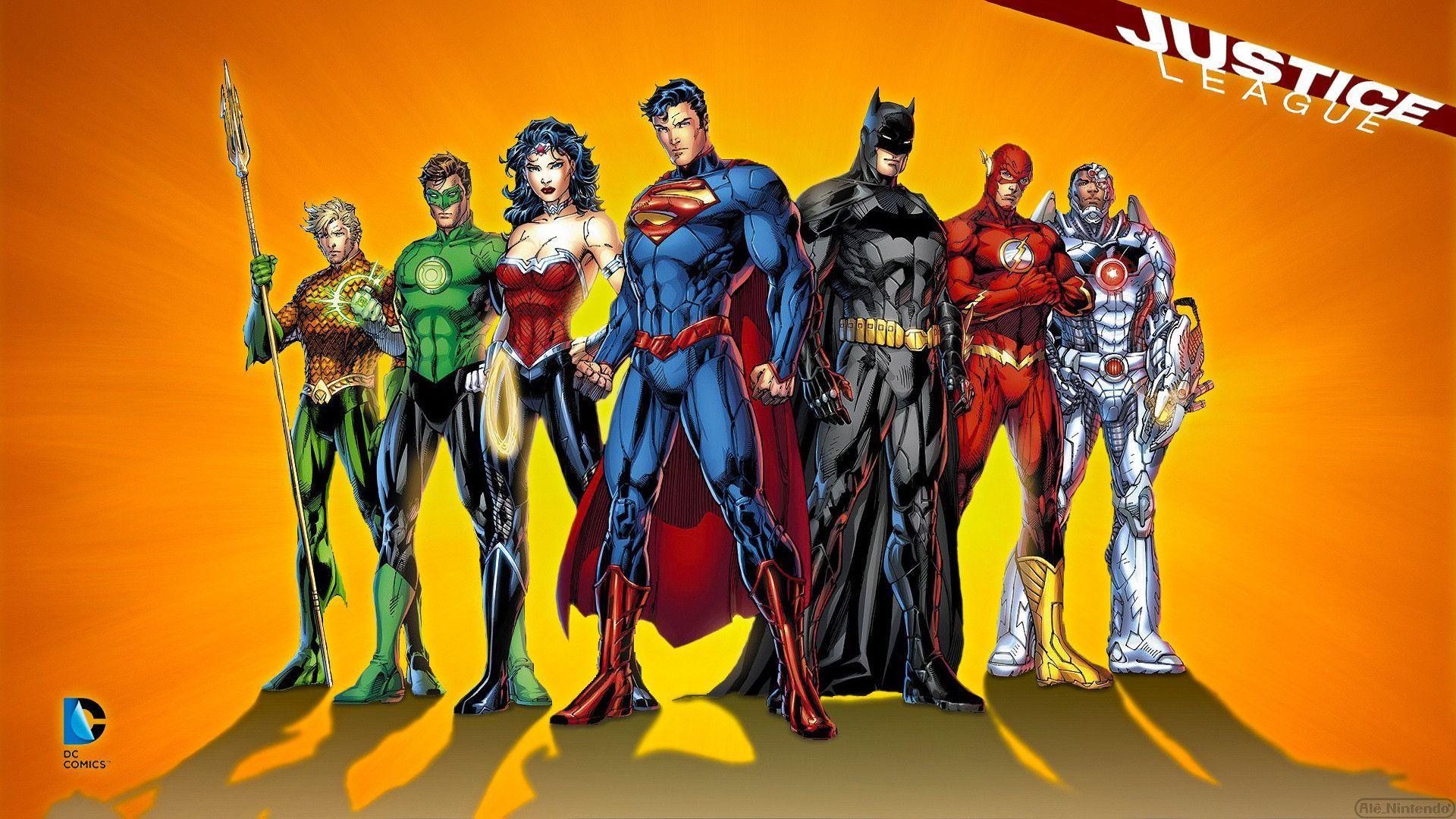 Justice League Wallpapaer